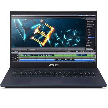 "Laptop 15.6"" ASUS VivoBook X571GT Star Black, Intel i5-9300H 2.4-4.1Ghz/8GB DDR4/SSD 512GB/GeForce GTX1650 4GB GDDR5/WiFi 6 802.11ax/BT5.0/USB Type C/HDMI/LAN/HD WebCam/15.6"" FHD IPS LED-backlit Anti-glare (1920x1080)/No OS X571GT-BQ009"