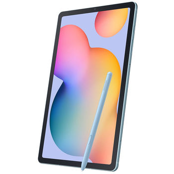 "10.4 "" Samsung P610 Galaxy Tab S6 Lite WiFi Blue, TFT WUXGA+ 2000x1200; Octa Core CPU 2.3GHz, 4GB RAM + 64GB Memory, S Pen, Rear: 8 MP; Front: 5 MP; microSD; WiFi AC; BT 5.0; Android 9.0 Pie, 7040mAh"