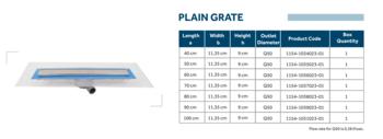 Линейный слив трап для душа Line 2 60cm Shower drain slot grate
