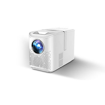"""Проектор ASIO LED AY-4012 Android White Projector, Vertical Size, Android, 4"""" LCD TFT, 16:9 & 4:3, 4200 lumens, 2500:1, 1280x720, supp. 1080P, LED Lamp 75W, Lamp Life: 50000 hours, Pict. size: 0.88m - 5m, Speakers 2x3W, HDMI/2xUSB/AV/Audio Out"""