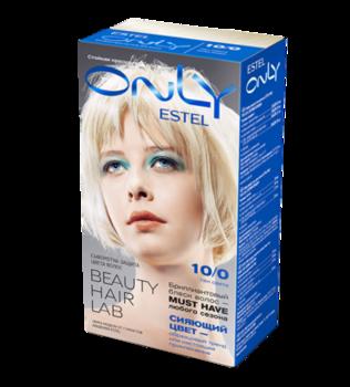 Краска для волос,ESTEL Only, 100 мл., 10/0 - Светлый блондин