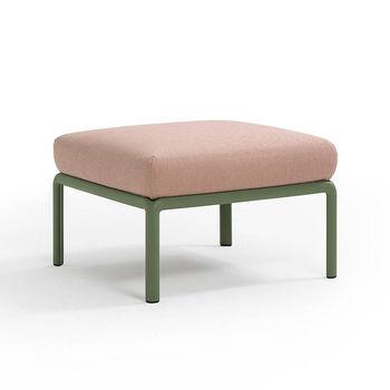 Пуф с подушкой Nardi KOMODO POUF AGAVE-rosa quarzo 40369.16.066
