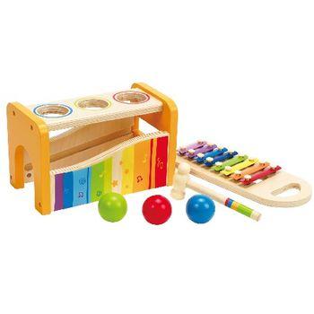 купить Hape Деревянная игрушка Ксилофон с шариками в Кишинёве