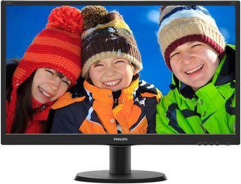 """купить 23.6"""" TFT LED Philips 243V5LSB5 Black Wide в Кишинёве"""