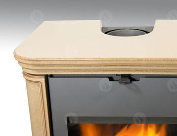 купить Каминная печь - ROMOTOP TALA 11 керамика, с теплообменником в Кишинёве