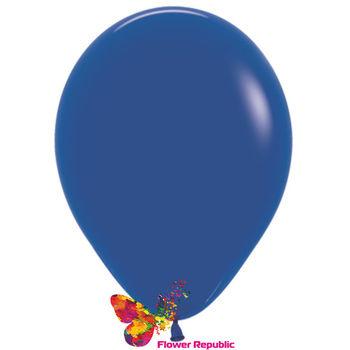 купить Латексный воздушный шар Синий-30 см в Кишинёве