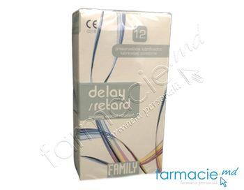 купить Prezervative Family N12 Delay (prolongate)(TVA8%) в Кишинёве