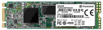 """M.2 SATA SSD  256GB Transcend  """"TS256GMTS830S"""""""