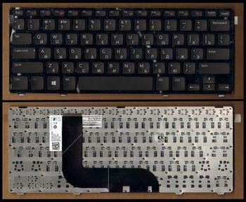 Keyboard Dell Inspiron 5423 5323 Vostro 3360 ENG/RU Black