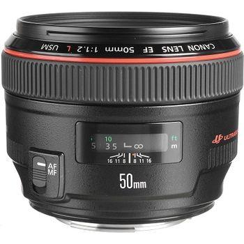 Prime Lens Canon EF 50 mm f/1.2 L USM