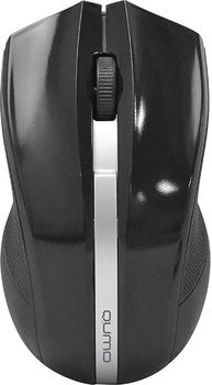 Wireless Mouse Qumo Style, Black
