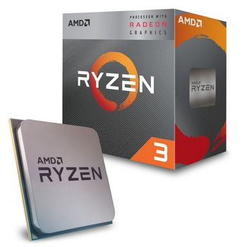 AMD Ryzen 3 PRO 3200G, Socket AM4, 3.6-4.0GHz (4C/4T), 4MB L3, Integrated Radeon Vega 8 Graphics, 12nm 65W, tray