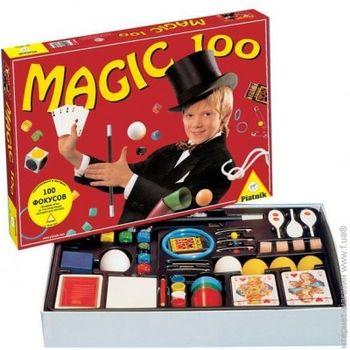 """Joc de masă """"Setul tânărului mag. 100 trucuri distractive"""", cod 41440"""