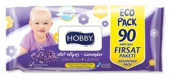 Салфетки влажные Hobby 90 Aloe Vera / Lavender