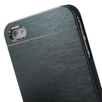 """Чехол """"MOTOMO"""" металлический серый для iPhone 4 / 4S"""