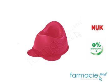 купить NUK Горшок детский розовый (256273) в Кишинёве