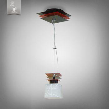 купить N&B Light Люстра Пиастра 10801-2 черный глянец/красный глянец в Кишинёве