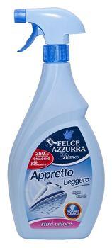 Аппрет парфюмированный для белья Felce Azzurra 500мл+250мл