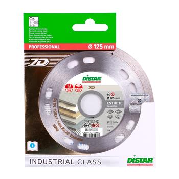 купить Алмазный отрезной диск Distar 1A1R 125x1,1x8x22,23 Esthete 7D в Кишинёве