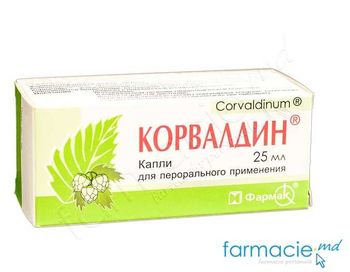 купить Корвалдин,капли 25мл (Farmak) ~ в Кишинёве