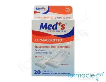 купить Emplastru Farmacerotto N20 assorti,transparent,impermeabil(2000000853M)(TVA20%) в Кишинёве