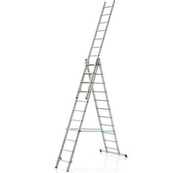 купить Универсальная лестница из алюминия VHR P 3x14, 3,39/6,13/8.99M в Кишинёве