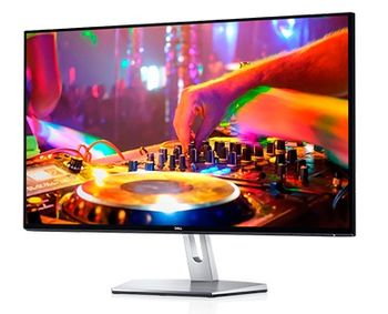 "27.0"" DELL IPS LED S2719H BorderIess ( 6ms, 8M:1, 250cd, 1920x1080, 178°/178°, HDMIx2 , Speakers, USB 2.0, VESA),"