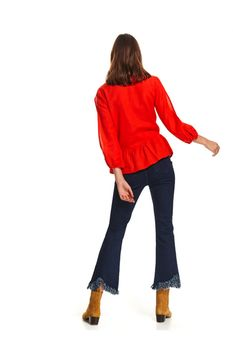 Блуза TOP SECRET Красный skl2879