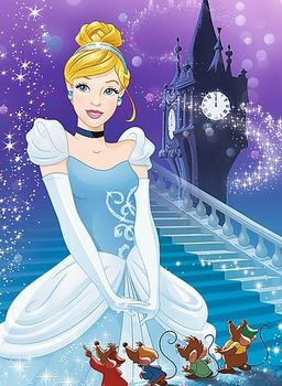 "54145 Trefl Puzzles - ""54 mini"" - In the fairyland / Disney Princess"