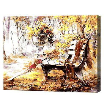 Картина по номерам 40x50см Осенний пейзаж артикул: 8069