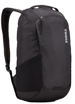 "13"" NB Backpack - THULE EnRoute 14L, Black, Safe-zone, 840D nylon, 330D nylon mini ripstop, Dimensions: 27 x 20 x 44 cm, Weight 0.73 kg, Volume 14L"