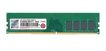 4GB DDR4-2400  Transcend JetRam, PC19200,  CL17, 1.2V