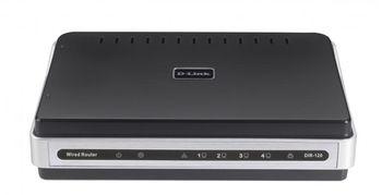 D-LINK DIR-120, Broadband Router, 4-ports 10/100Mbps, Base-TX Switch&USB Printer Port