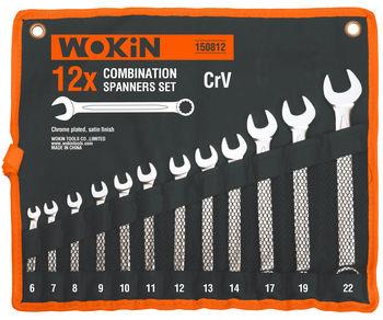 купить Набор комбинированных ключей в чехле 12 шт Wokin в Кишинёве