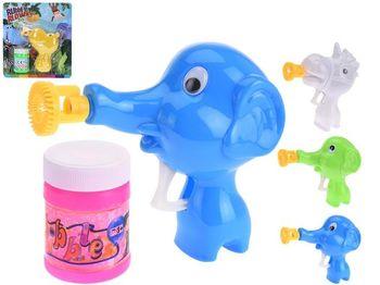 """Мыльные пузыри 50ml и пистолет """"Слон/гиппопотам"""""""