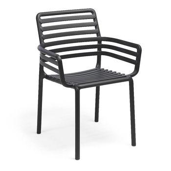 Кресло Nardi DOGA ARMCHAIR ANTRACITE 40254.02.000 (Кресло для сада и террасы)