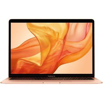 "APPLE MacBook Air (Late 2018) Gold, 13.3"" Retina IPS (Intel® Dual Core™ i5 1.6-3.6GHz (Amber Lake Y), 8GB DDR3 RAM, 256Gb SSD, Intel UHD Graphics 617, TB3, WiFi-AC/BT4.2, 12 hours, Touch ID, 720p Camera, Backlit KB, RUS, macOS Mojave, 1.25kg)"