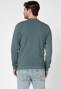 Pulover JACK&JONES Turcoaz marin 12172555 NORTH ATLANTIC