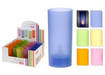 Свеча имитац LED с мерцающим светом H11.5 D4.5cm