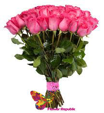купить Роза  Розовая 100-110 см Поштучно в Кишинёве