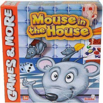 купить Simba Настольная игра Мышки в домике в Кишинёве