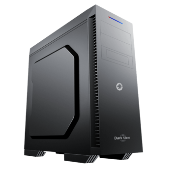 купить Case ATX GAMEMAX Dark Silent, w/o PSU, 3x120mm, Sound deadening foam, Dust Filter, USB 3.0, Black в Кишинёве