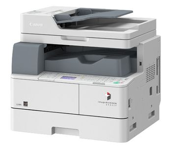 MFP Canon iR1435IF, Mono Printer/Copier/Color Scanner/Fax, DADF(50-sheet), Duplex, Net,  A4, 600x600 dpi, 35ppm, 25–400%,256Mb,Paper Input (Standard) 500-sheet tray, USB 2.0, Set - Drum Unit: 35500 pag, SET - Cartridge C-EXV50 (17600 pages 5%)