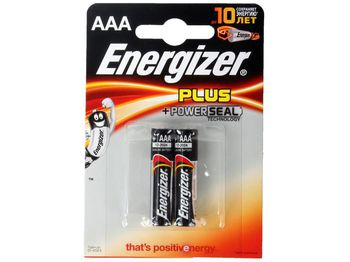Energizer Plus AAA FSB2 New (blister)