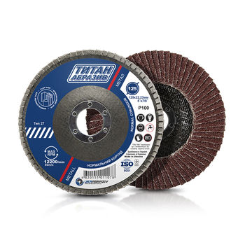 cumpără Discuri abrazive lamelare ТитанАбразив 125*22(P100] în Chișinău