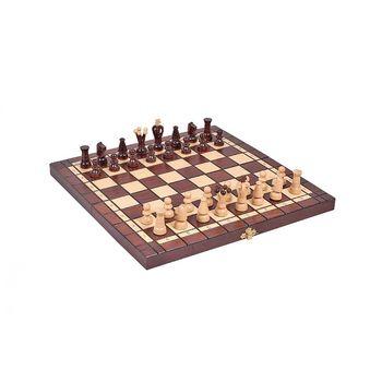 Шахматы + шашки деревянные 35x35 см CH165A (5237)