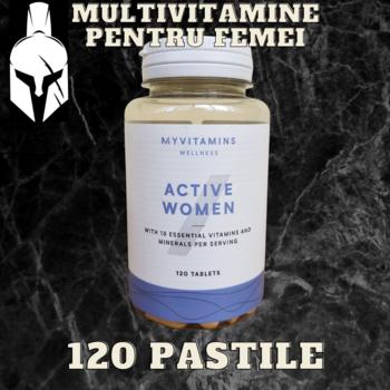 Мультивитамины - Active Women - 120 таблеток