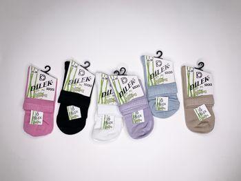 Dilek носки средней длины с сеткой