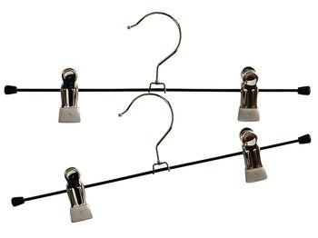 Набор вешалок для брюк 2 зажима 2шт 30.5cm, металл