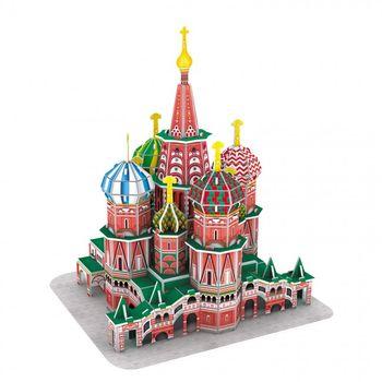купить CubicFun 3D пазл Собор Basil's Cathedral в Кишинёве